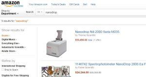 nanodrop