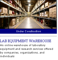 lab equipment warehouse