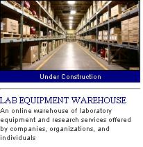 lab equipment warehouse