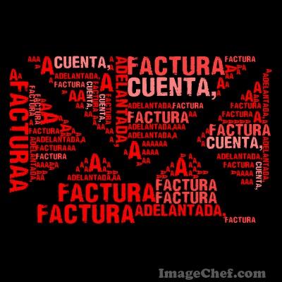 #Facturas Adelantadas